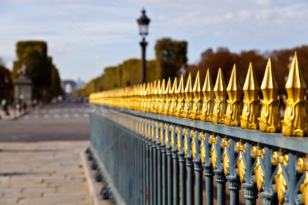 Concorde Picket Fence Stock photo © ribeiroantonio