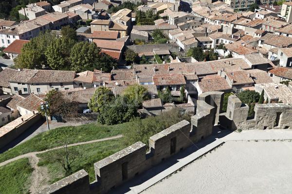 Carcassonne Village  Stock photo © ribeiroantonio