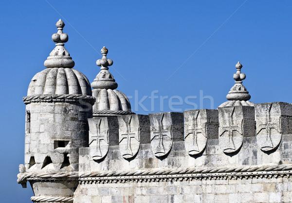Toren details unesco wereld erfgoed plaats Stockfoto © ribeiroantonio