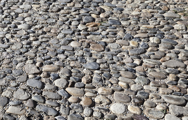 Oppervlak straten middeleeuwse stad zuidelijk Stockfoto © ribeiroantonio
