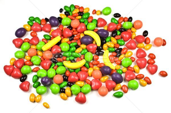 キャンディ 白 食品 抽象的な ストックフォト © ribeiroantonio