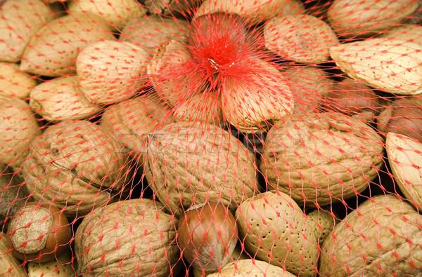 Stockfoto: Gemengd · noten · hazelnoten · amandelen · shell · vruchten