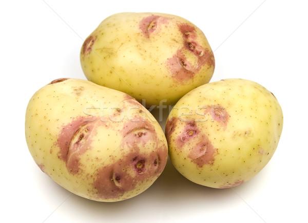 Pink Kiss Potatoes Stock photo © ribeiroantonio