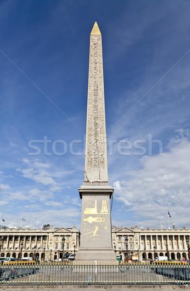 Luxor miejsce la Paryż Francja boga Zdjęcia stock © ribeiroantonio
