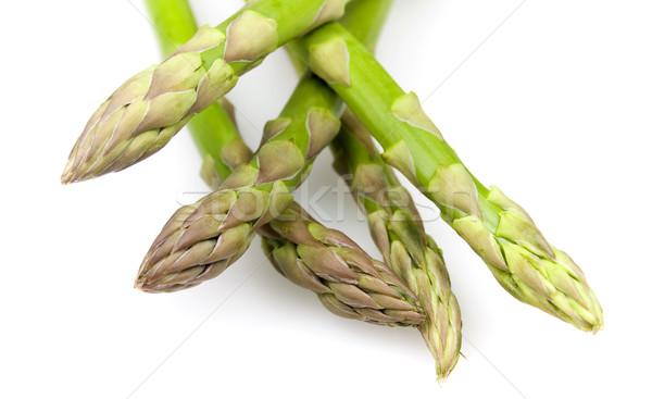 緑 アスパラガス 新鮮な 孤立した 白 食品 ストックフォト © ribeiroantonio