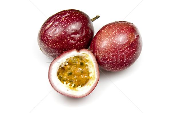 Orgánico pasión frutas dulce blanco ensalada Foto stock © ribeiroantonio