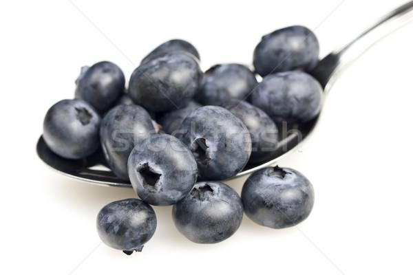 ブルーベリー 健康 新鮮な 白 フルーツ ベリー ストックフォト © ribeiroantonio