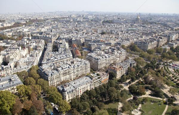 Париж мнение Эйфелева башня глядя Лувр музее Сток-фото © ribeiroantonio