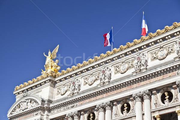 パリ オペラ 細部 建物 劇場 像 ストックフォト © ribeiroantonio