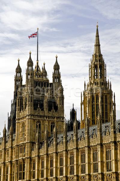Huizen parlement paleis westminster vergadering plaats Stockfoto © ribeiroantonio