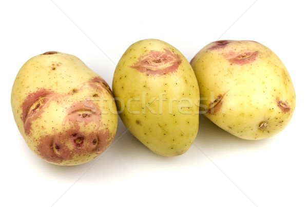 Pink Kiss Potatoes Stock photo © ribeiroantonio