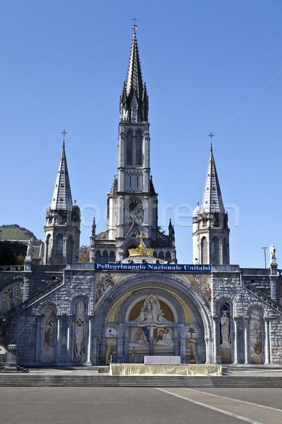 Sanctuary of Lourdes Stock photo © ribeiroantonio