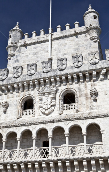 Belem Tower Details Stock photo © ribeiroantonio