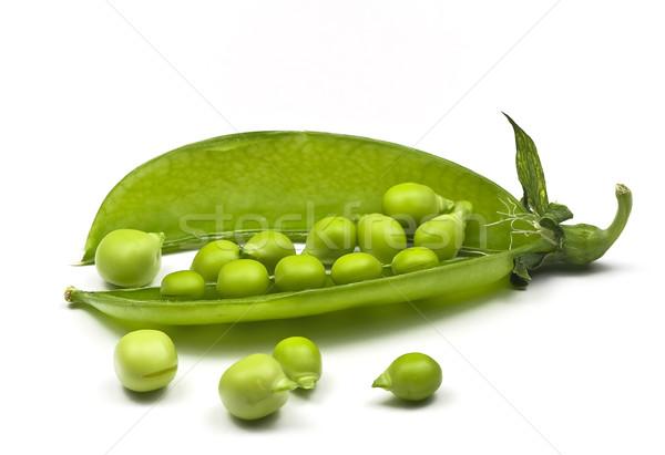Pea pods and peas Stock photo © ribeiroantonio