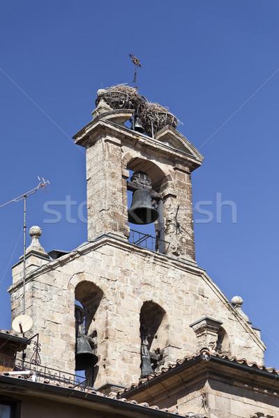 Salamanca San Martin Church Stock photo © ribeiroantonio