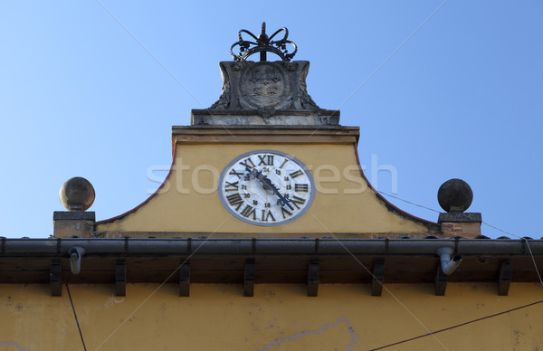 Tordesillas Plaza Mayor Stock photo © ribeiroantonio