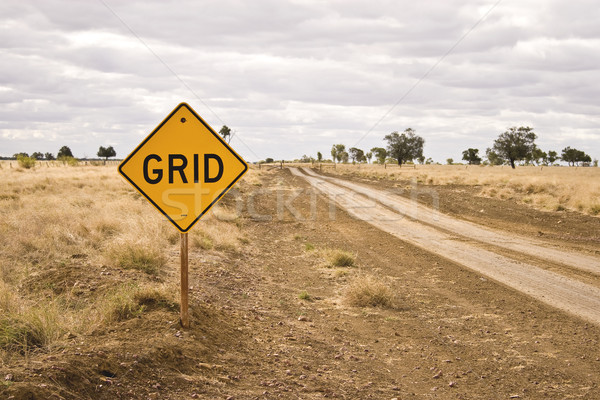 Road sign - Grid Stock photo © ribeiroantonio