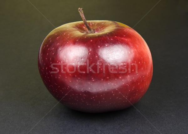 赤 リンゴ 幸せ 黒 ストックフォト © ribeiroantonio