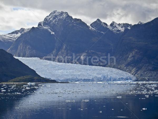 氷河 水 自然 海 美 山 ストックフォト © ribeiroantonio