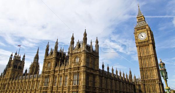 住宅 議会 宮殿 ウェストミンスター 会議 場所 ストックフォト © ribeiroantonio