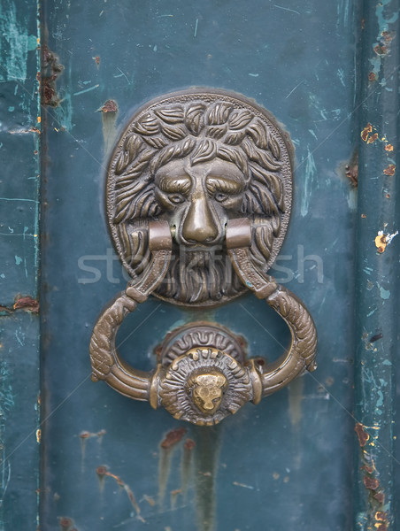 Door Knocker Stock photo © ribeiroantonio