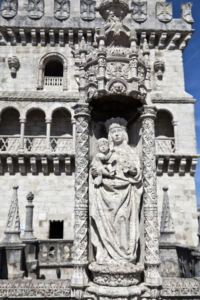 塔 細部 リスボン ユネスコ 世界 遺産 ストックフォト © ribeiroantonio