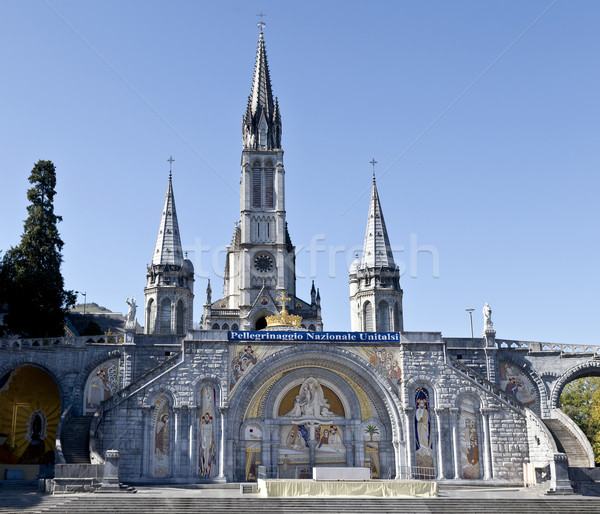 Sanctuary of Lourdes Stock photo © ribeiroantonio