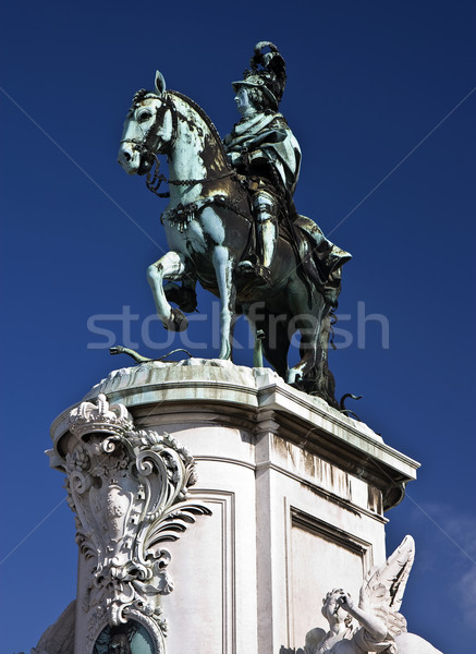 King Jose I Statue Stock photo © ribeiroantonio