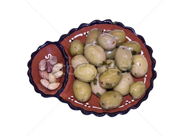 Olives Bowl Stock photo © ribeiroantonio