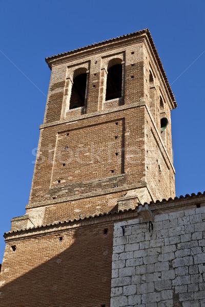鐘 塔 アーキテクチャ ヨーロッパ 町 ストックフォト © ribeiroantonio