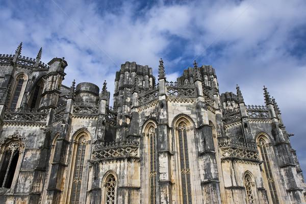 Klooster juweel gothic bouw kerk steen Stockfoto © ribeiroantonio