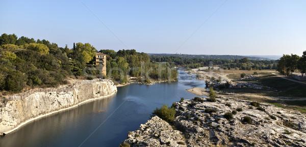 川 フランス 表示 古代 ローマ エンジニアリング ストックフォト © ribeiroantonio