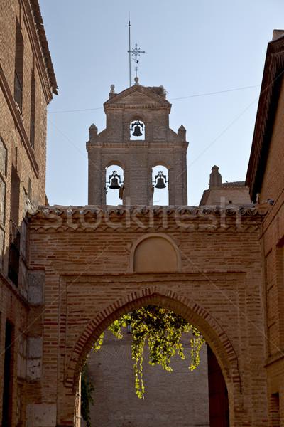 Koninklijk paleis gothic kerk Stockfoto © ribeiroantonio