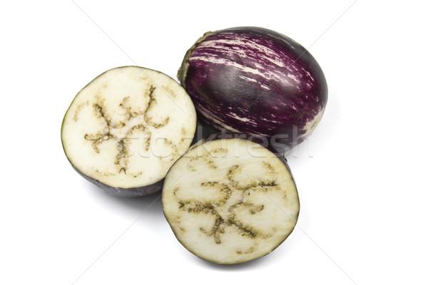 Indian Eggplant or Asian Eggplant Stock photo © ribeiroantonio