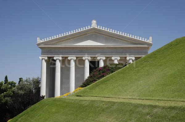 Ionica colonne internazionali mondo centro Foto d'archivio © ribeiroantonio