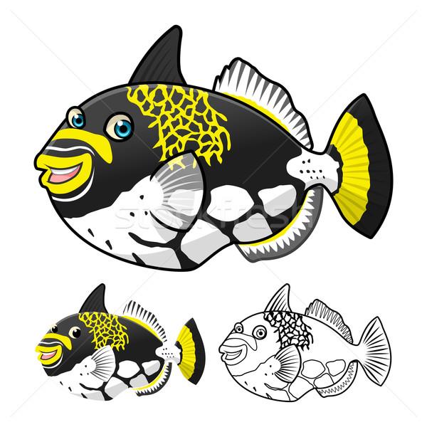 Peixe alto qualidade projeto Foto stock © ridjam