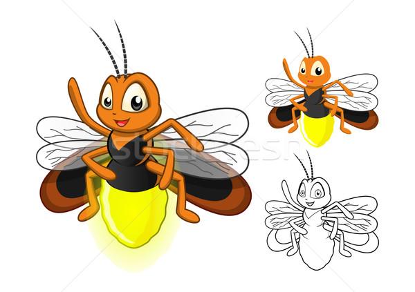 Firefly Cartoon Character Stock photo © ridjam