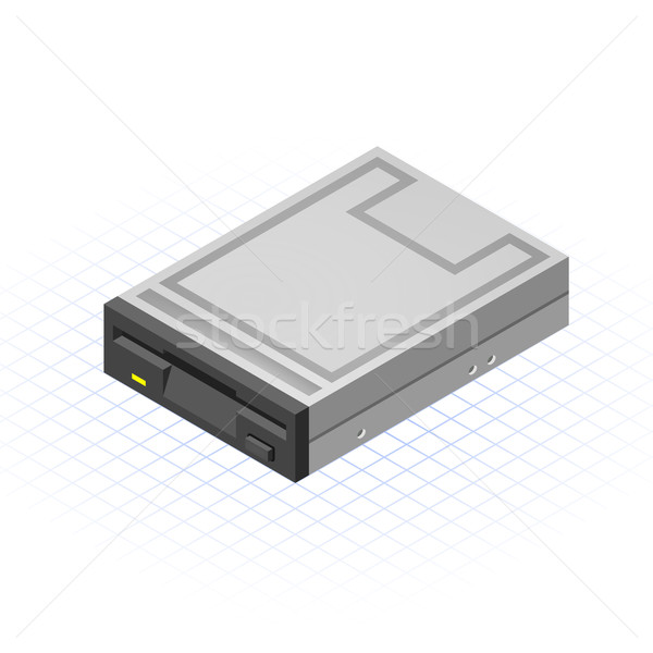 Isometric Floppy Drive Stock photo © ridjam