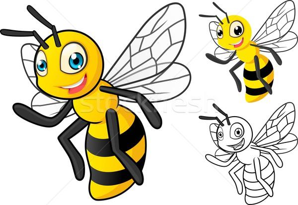 пчелиного меда высокий качество подробный дизайна Сток-фото © ridjam