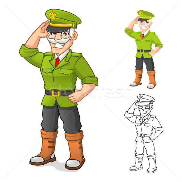 Geral exército alto qualidade mão Foto stock © ridjam