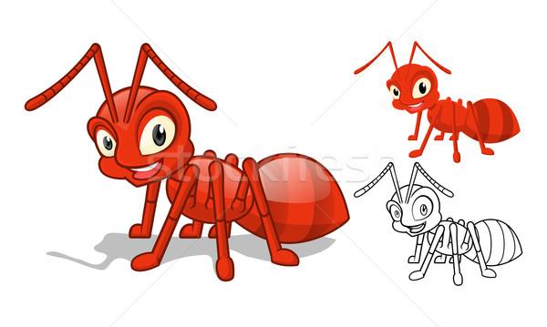 赤 アリ 高い 品質 詳しい ストックフォト © ridjam