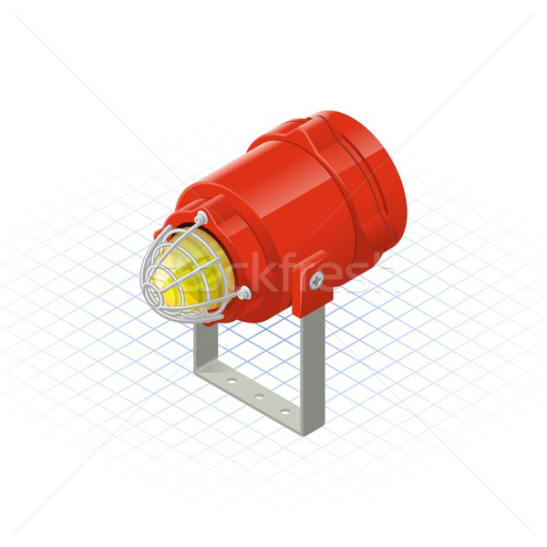 Isometric Beacon Stock photo © ridjam