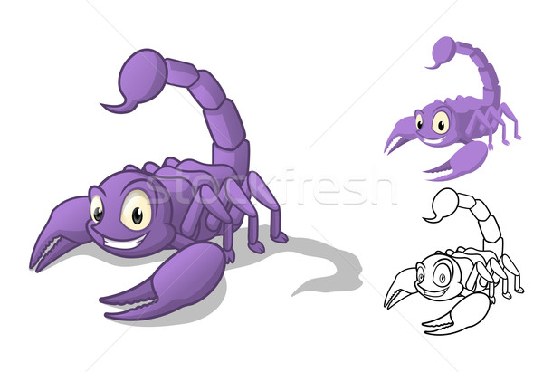 Scorpion Cartoon Character Stock photo © ridjam