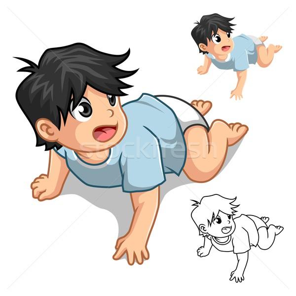 Bebê projeto versão Foto stock © ridjam