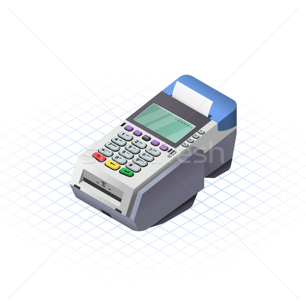 Isometric EDC Stock photo © ridjam
