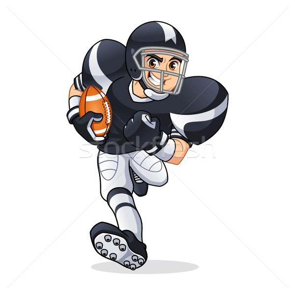 American Football Player Running Stock photo © ridjam