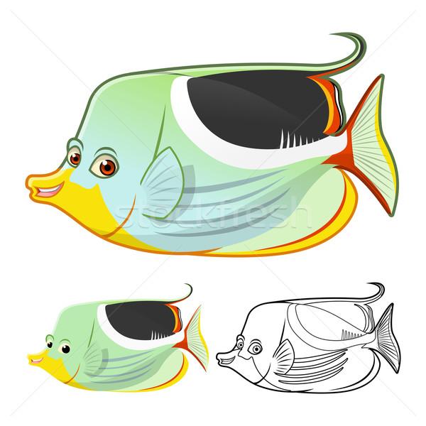Sela borboleta peixe alto qualidade Foto stock © ridjam