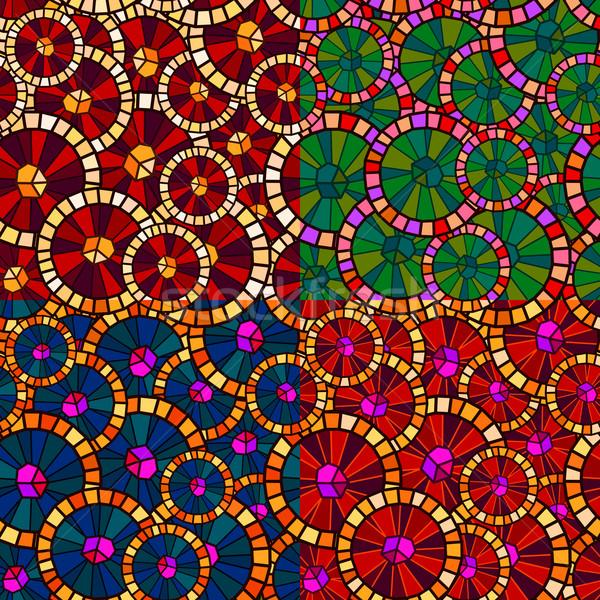 Padrão abstrato cor textura Foto stock © riedjal