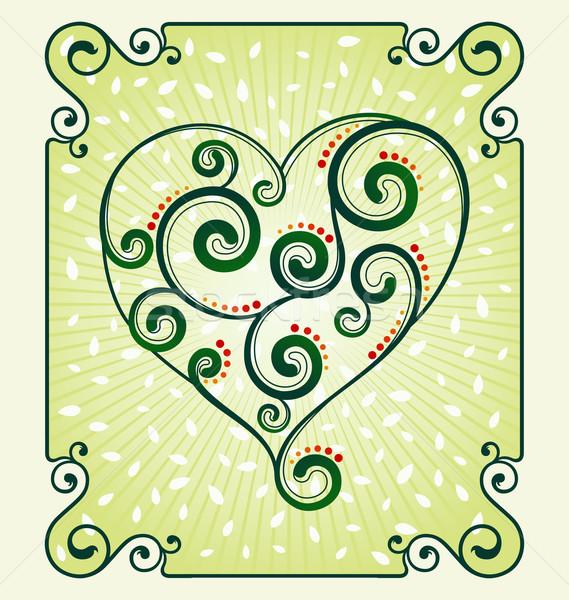 Dekorativ Herz Symbol unterschiedlich Zweck Veranstaltung Stock foto © riedjal