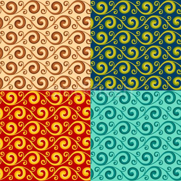 swirly pattern Stock photo © riedjal